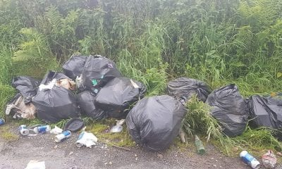 Dumping Lough Ross Road, Crossmaglen