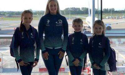 Keady schoolgirls representing Northern Ireland at Dance World Cup