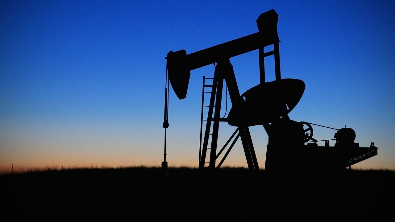 Oil field for oil exploration in Co Armagh