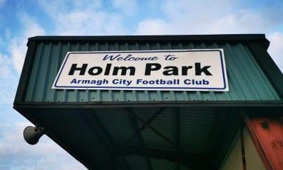 Armagh City FC Holm Park