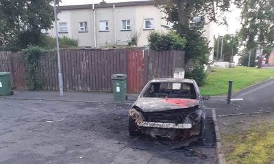Car burnt out Portadown