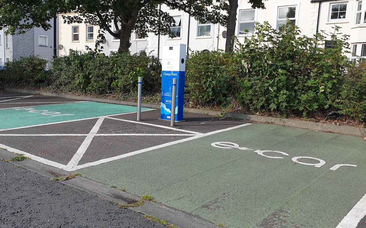 Electric car charging point Warrenpoint