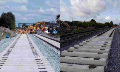 Lurgan railway work