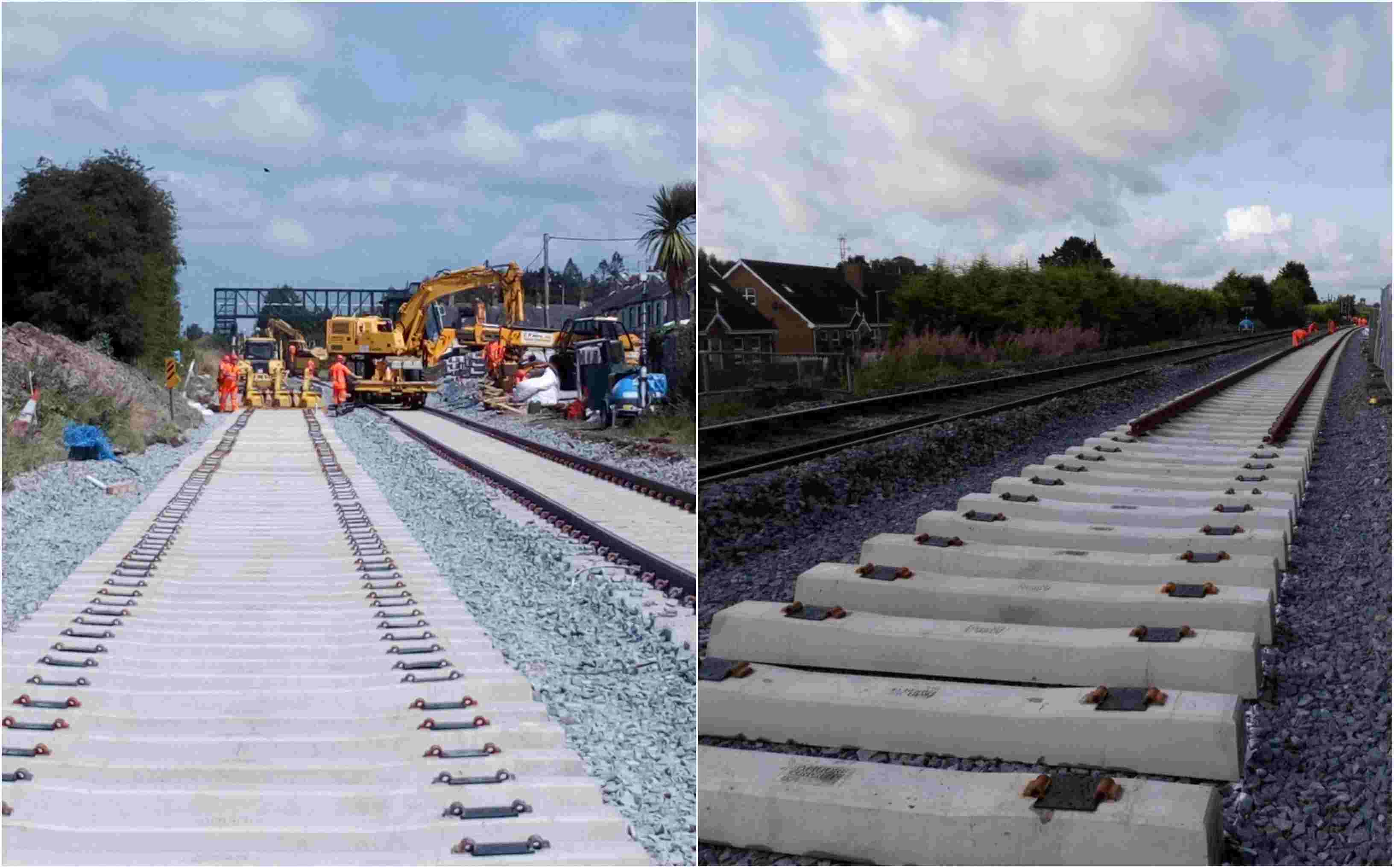 Lurgan railway work