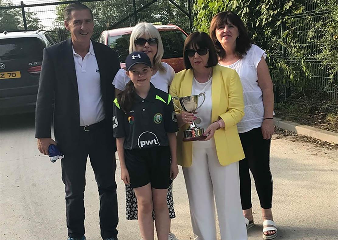McGleenan Family with the Introduction of the John McGleenan Memorial Cup