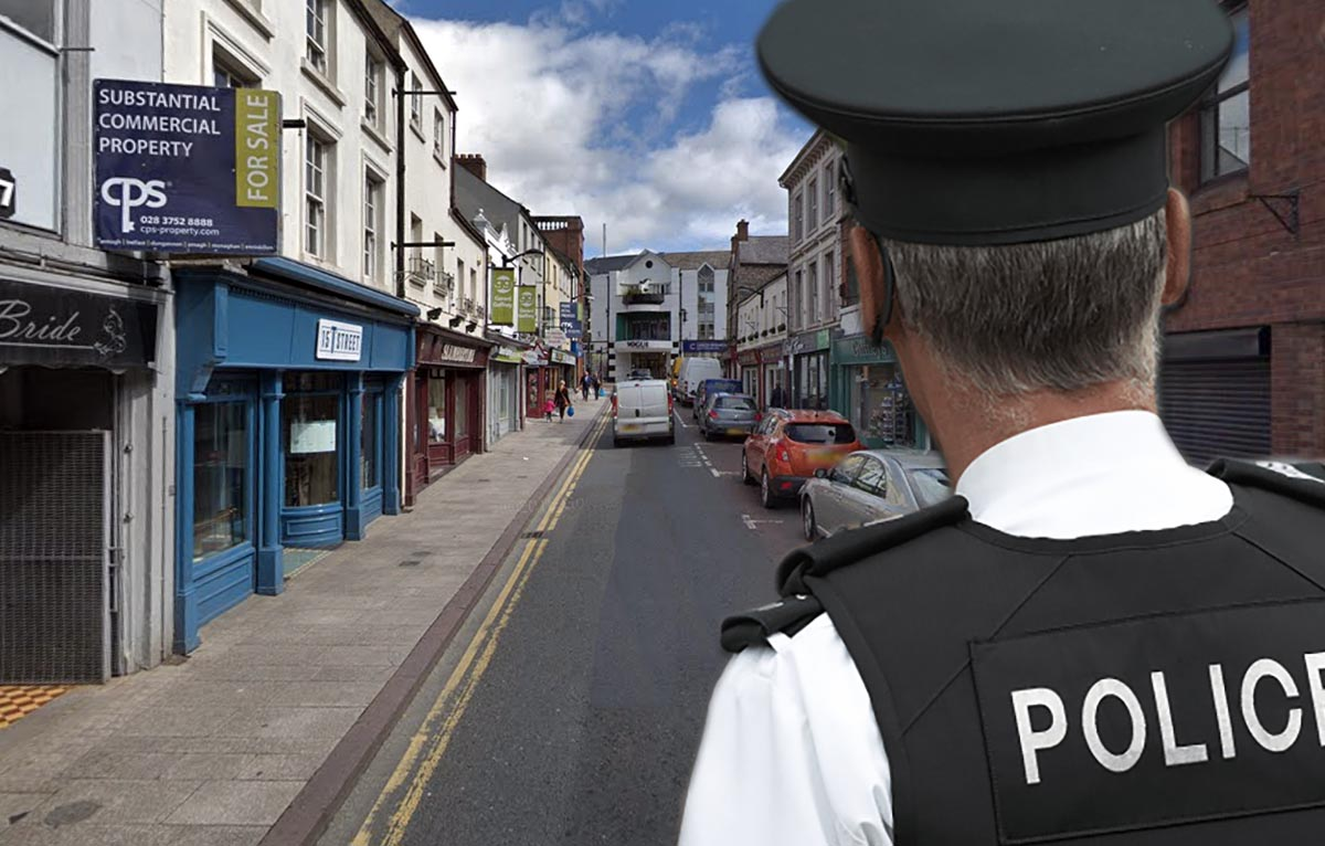 PSNI Thomas Street Armagh