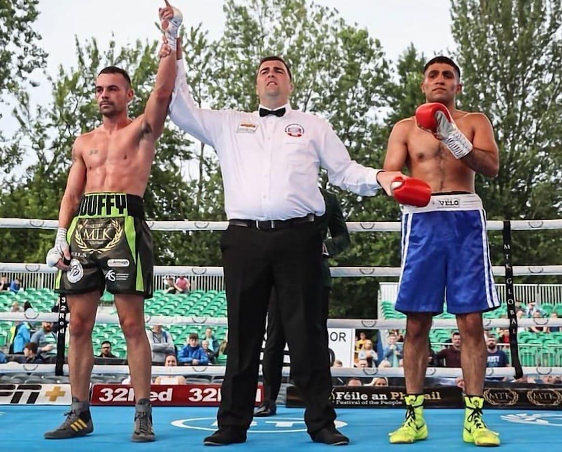 Sean Duffy boxing