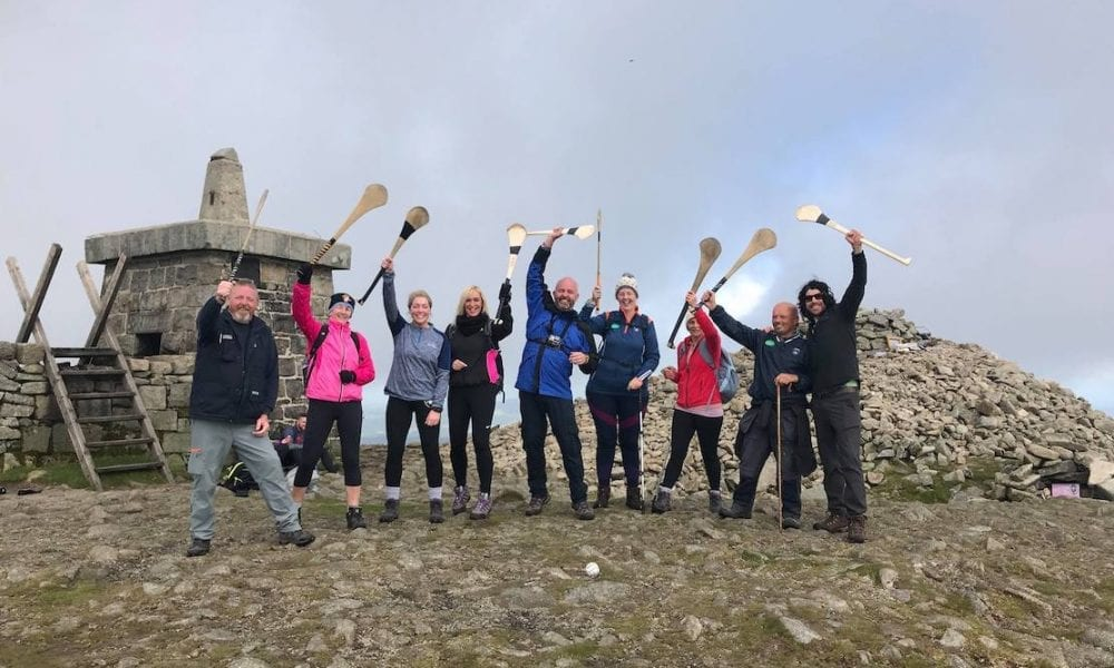 West Armagh Consortium Poc Fada on Slieve Gullion for charity