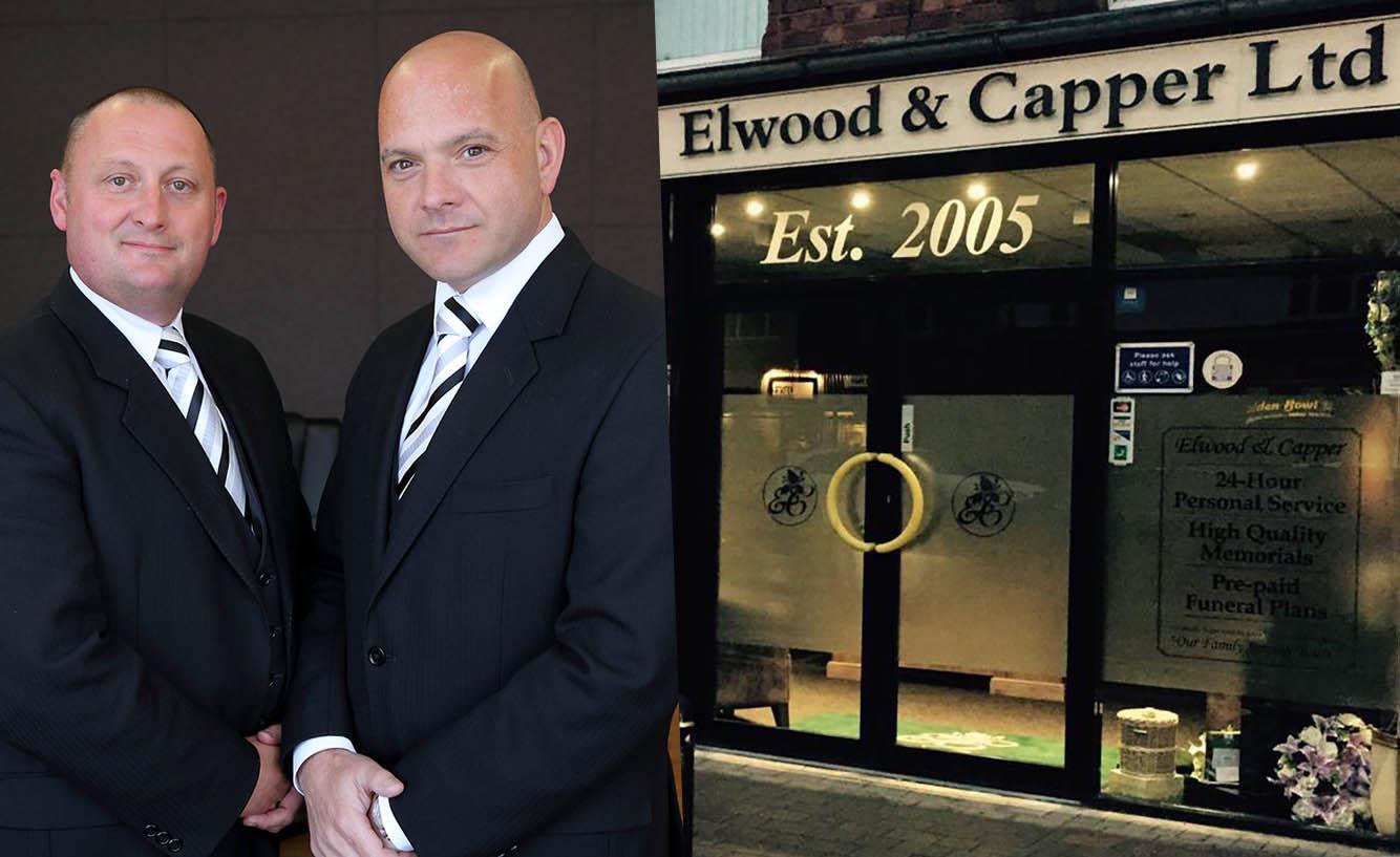 Brian Elwood (Partner) and David Capper (Partner) od Elwood and Capper Funeral Directors