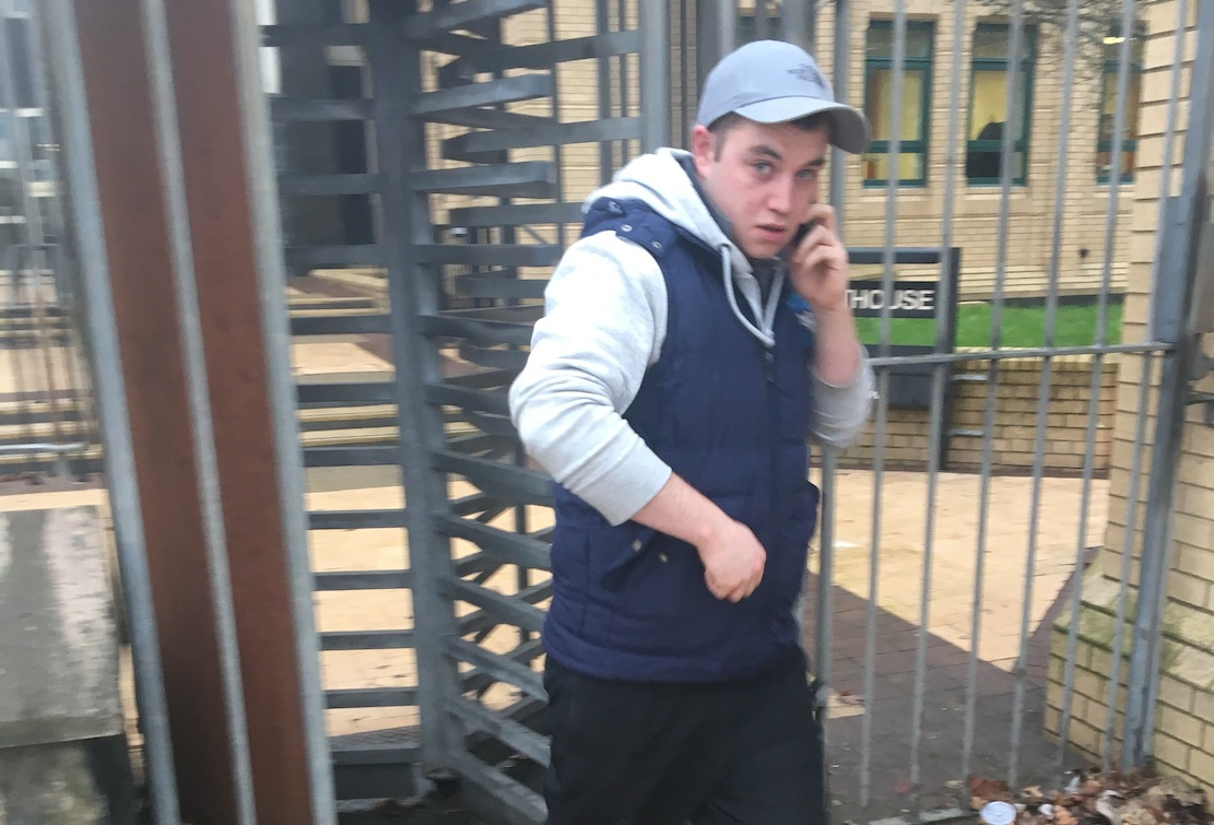 Jake O'Brien is accused of being involved in the murder of Malcolm McKeown