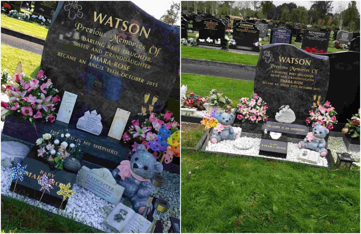 Tmara-Rose Watson grave