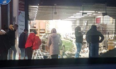 Clarke's Paint Shop crash
