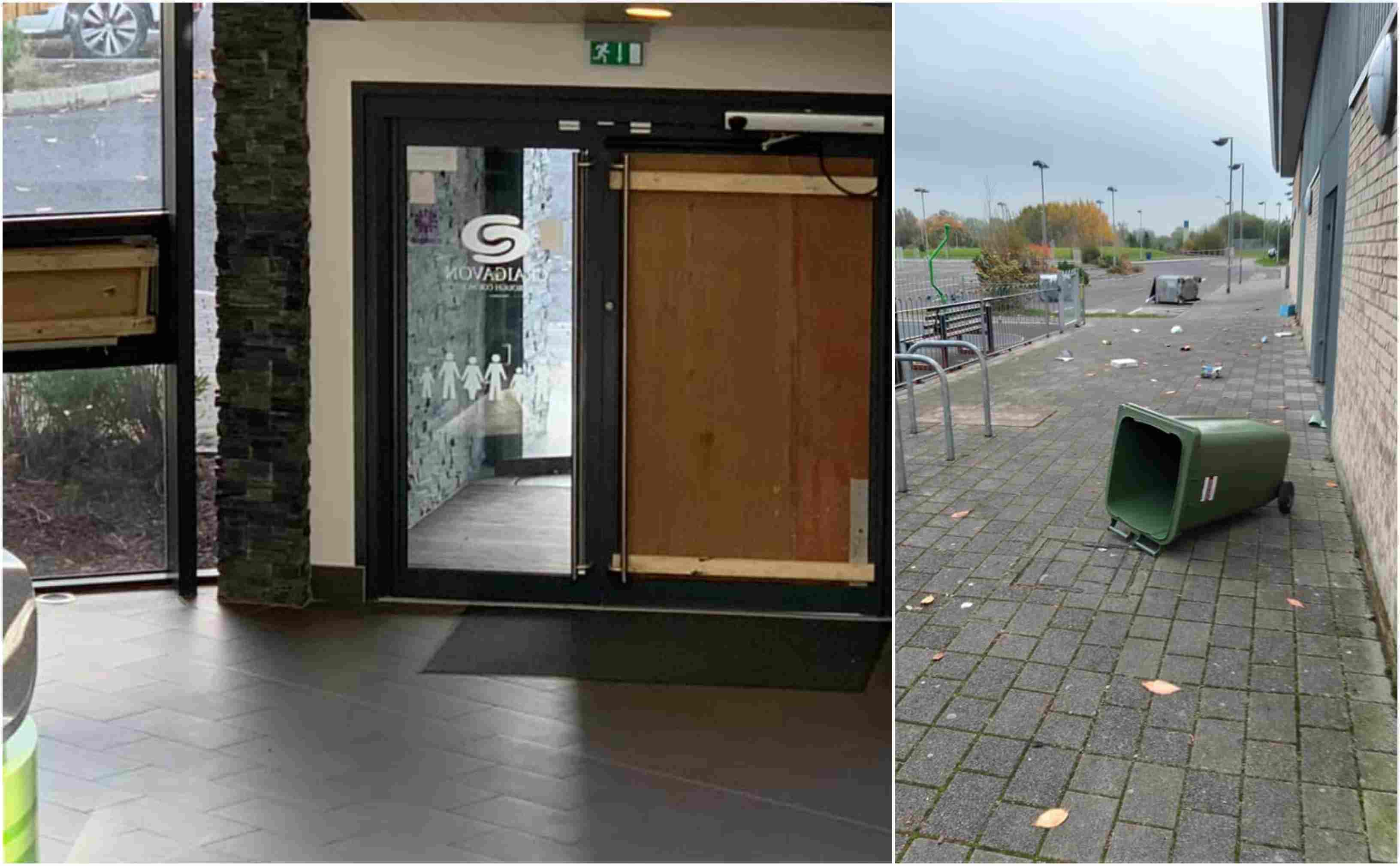 Brownlow Hub vandalised