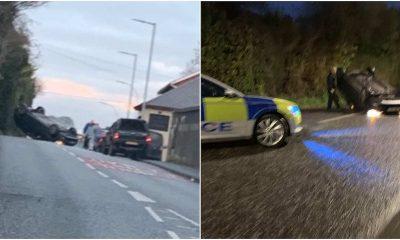 Armagh crash on Loughgall Road