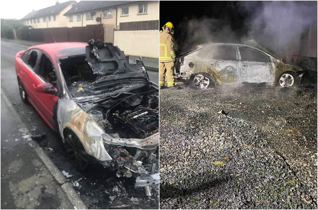 Car fires Newry and Bessbrook
