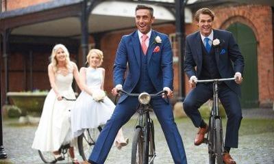 JR McMahon wedding suits
