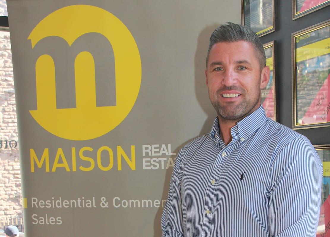 Ciaran McGurgan, owner of Maison Real Estate