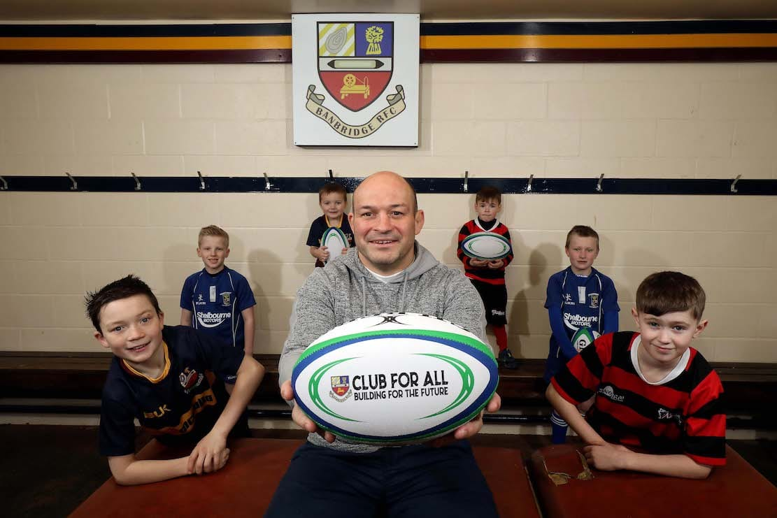 Rory Best Banbridge Rugby Club