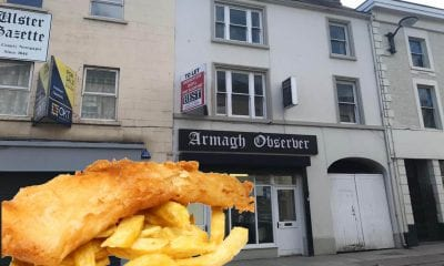 Armagh Observer office chippy