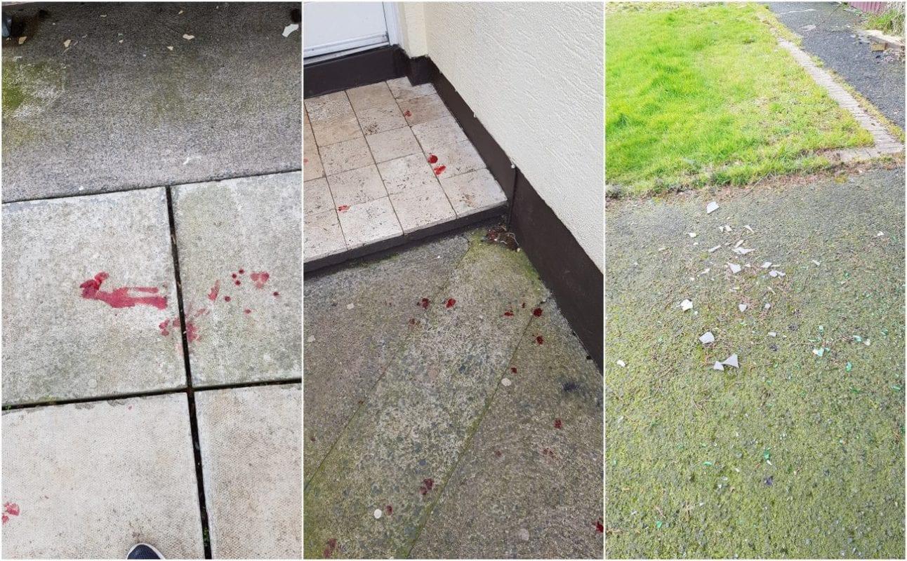 Broken glass Armagh