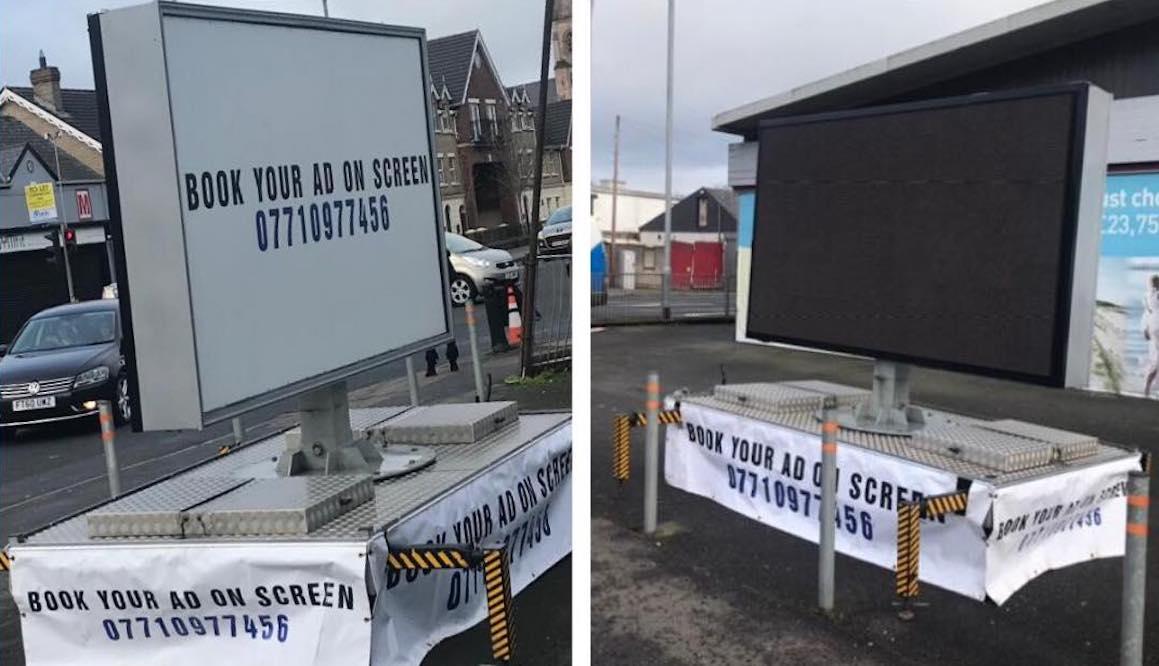 LED screen Armagh
