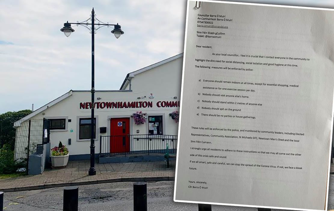 Newtownhamilton letter