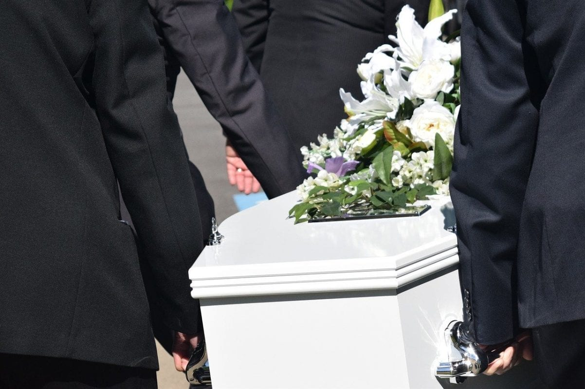 Death coffin funeral