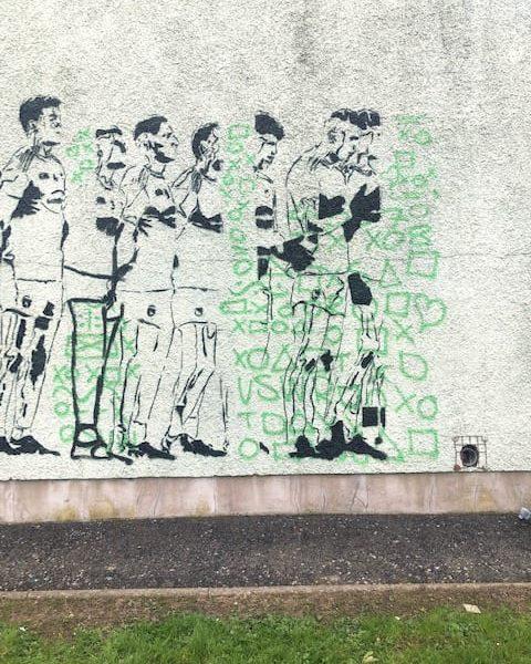 Armagh GAA mural Callanbridge