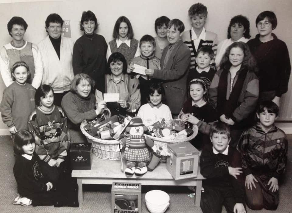 The original raffle which started the Armagh Support Group