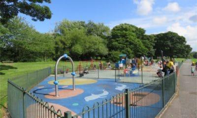 Lurgan Park playground