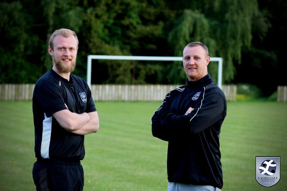 Robin Carson (left) & Garry Millar (right)