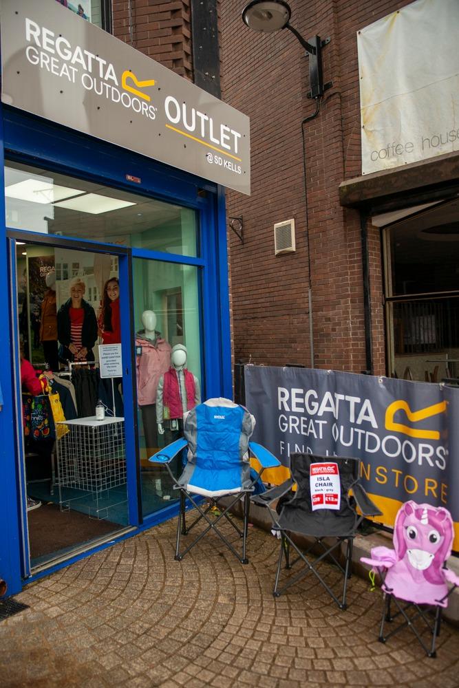 Armagh shops reopening Regatta