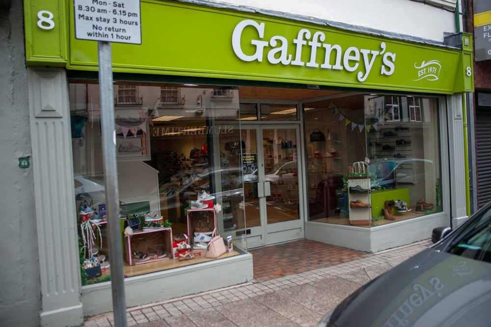 Armagh shops reopening Gaffney's
