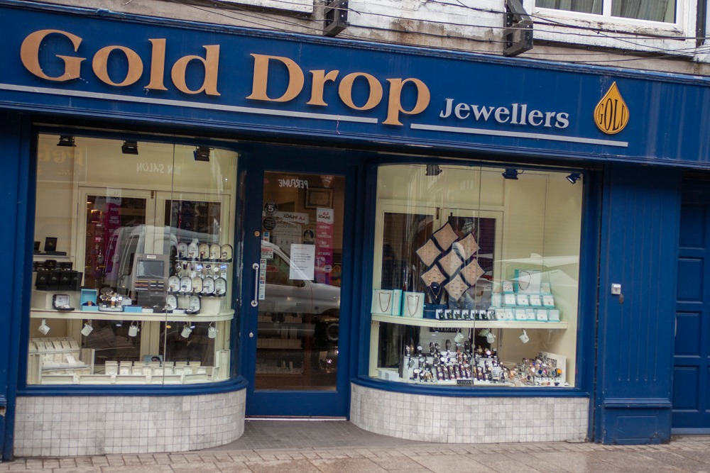 Armagh shops reopening Gold Drop