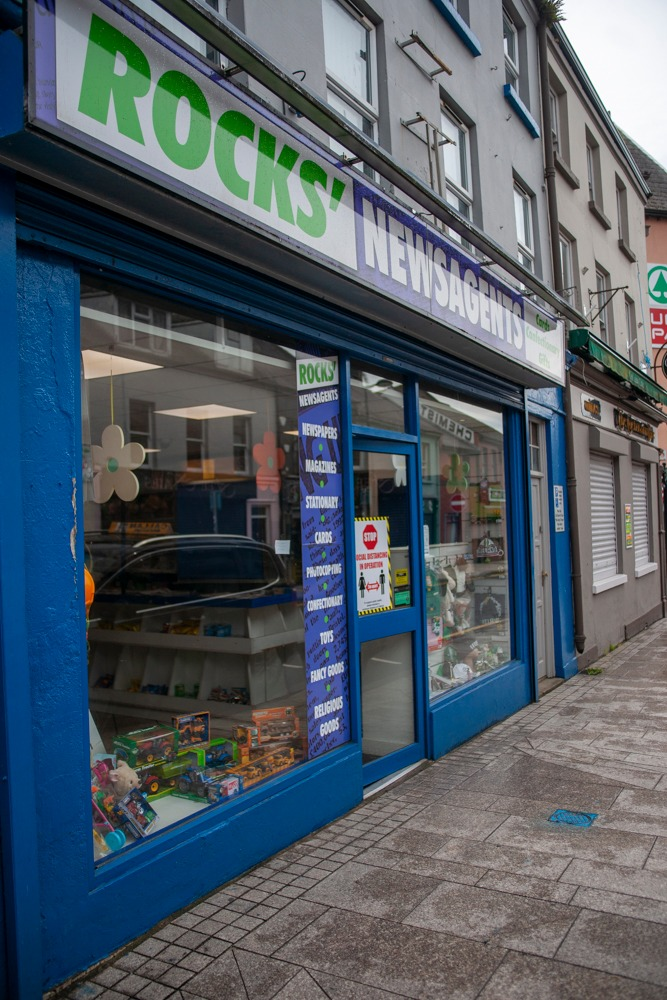 Armagh shops reopening Rocks'