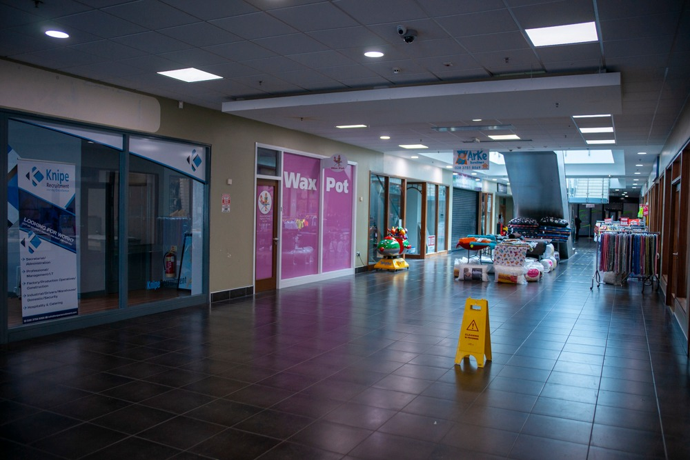 Armagh shops reopening Shopping Centre