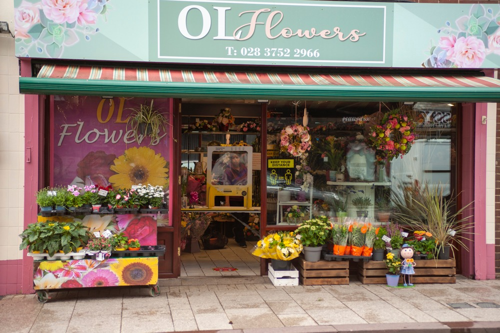 Armagh shops reopening OL flowers