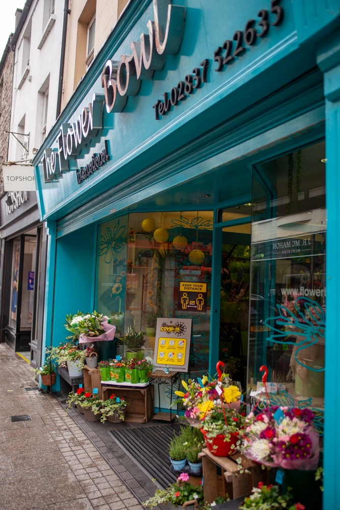 Armagh shops reopening Flower Bowl