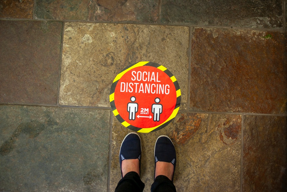 Armagh shops reopening Social Distancing