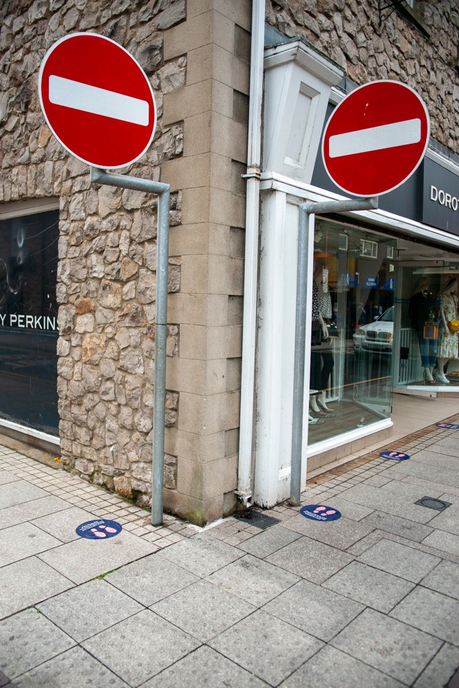 Armagh shops reopening City Centre