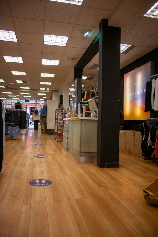 Armagh shops reopening