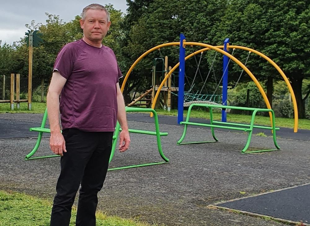 Sinn Fein Councillor Mickey Larkin