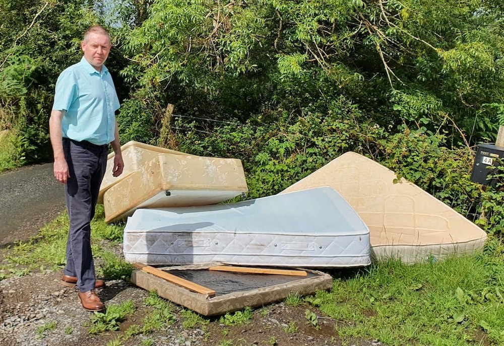 Mickey Larkin dumping flytipping