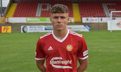 Dane McCullough Portadown FC