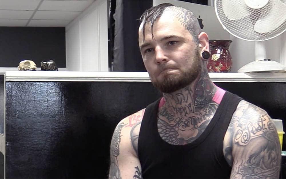 Ritchie Connor Tattoo artist