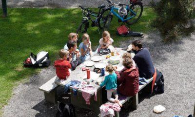 family covid outdoor