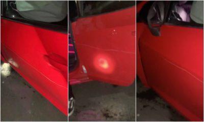 Car keyed Armagh