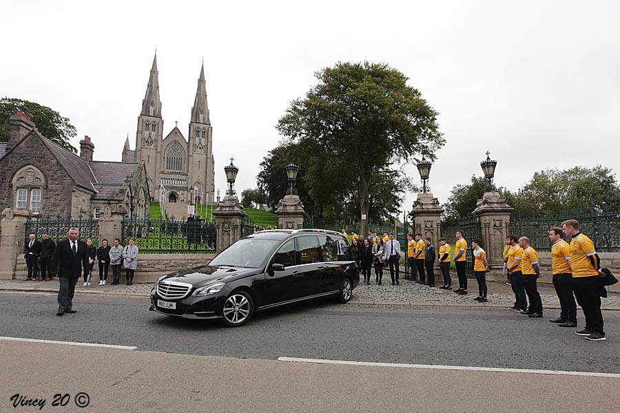 Gerard Devlin funeral