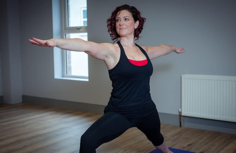 Karen Wasson Armagh yoga teacher