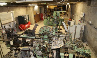 Hidden cigarette factory Co. Armagh